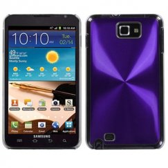 Samsung Galaxy Note Purple Cosmo Back Case