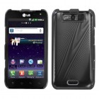 LG Viper Black Cosmo Back Protector Cover
