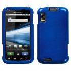 Motorola Atrix 4G Solid Dark Blue Phone Protector Cover