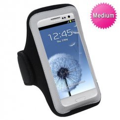 Vertical Pouch Universal Black Sport Armband