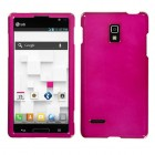 LG Optimus L9 Solid Hot Pink Phone Protector Cover