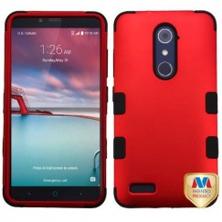 ZTE Grand X Max 2 Titanium Red/Black Hybrid Case