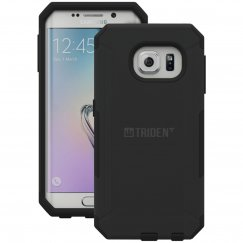 Trident Aegis Series Case for Galaxy S6 with Screen Protector- Black