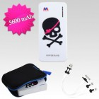 Skull/Heart Li-ion Power Bank (5600 mAh)