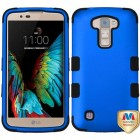 LG K10 Titanium Dark Blue/Black Hybrid Case