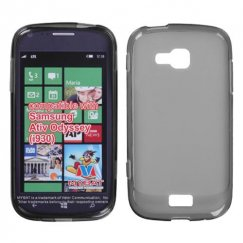 Samsung ATIV Odyssey Semi Transparent Smoke Candy Skin Cover - Rubberized