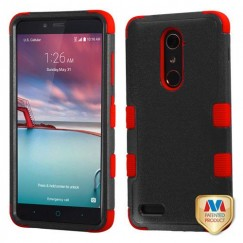 ZTE Grand X Max 2 Natural Black/Red Hybrid Case