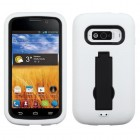 ZTE Imperial Black/White Symbiosis Stand Case