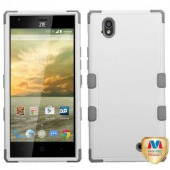 ZTE Warp Elite Natural Cream White/Iron Gray Hybrid Case