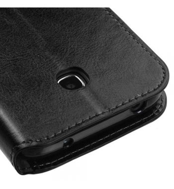 Huawei Union Y538 Black Wallet(with Tray)