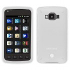 Samsung Rugby Smart SGH-i847 Solid Skin Cover (Translucent White)