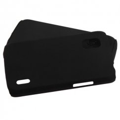 LG Nexus 4 Black/Black Fusion Case - Rubberized