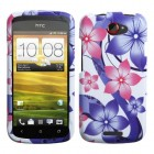 HTC One S Pink Hibiscus Flower Romance Case