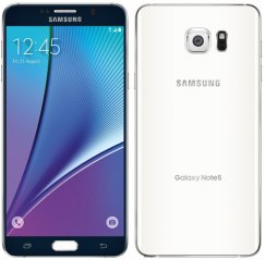 Samsung Galaxy Note 5 N920P 64GB Android Smartphone for Sprint PCS - Black with White Back