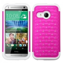 HTC One Remix Hot Pink/Solid White FullStar Case