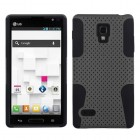 LG Optimus L9 Gray/Black Astronoot Case
