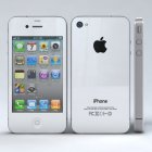Apple iPhone 4S 8GB 4G LTE Bluetooth GPS White Phone Sprint
