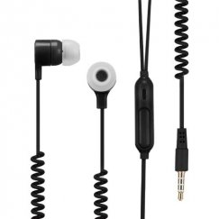 Black Stereo Handsfree (with Slingshot Cable)