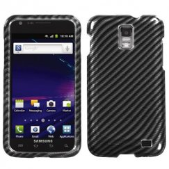 Samsung Galaxy S2 Skyrocket Racing Fiber 2D Silver Case