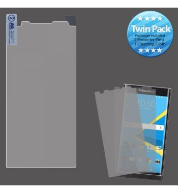 Blackberry Priv Screen Protector Twin Pack