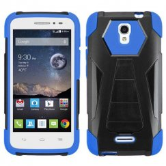 Alcatel One Touch Pop Astro Blue Inverse Advanced Armor Stand Case