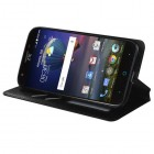 ZTE Grand X 3 / Warp 7 Black Wallet with Tray