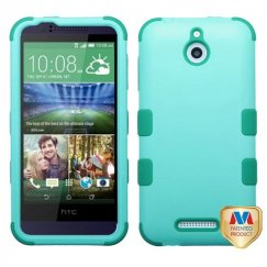 HTC Desire 510 Rubberized Baby Green/Forest Green Hybrid Case
