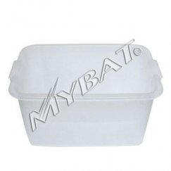 Plastic Storage Box-1# (L=16.75*W=11.50*D=9.00 inch) (Clear)(Used)