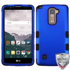 LG LG G Stylo 2 Plus Titanium Dark Blue/Black Hybrid Case