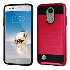 Red/Black Brushed Hybrid Protector Cover