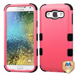 Samsung Galaxy E5 Natural Pink/Black Hybrid Case