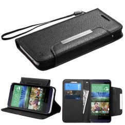 HTC Desire 510 Black Wallet