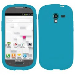 Samsung Galaxy Exhibit Solid Skin Cover - Tropical Teal
