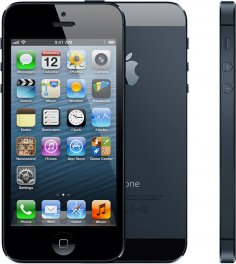 Apple iPhone 5 64GB Smartphone - Straight Talk Wireless - Black