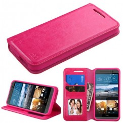HTC One M9 Hot Pink Wallet with Tray