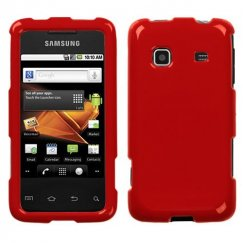 Samsung Galaxy Prevail Solid Flaming Red Case