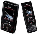 LG Chocolate RED Bluetooth Camera Phone with MP3 for Verizon
