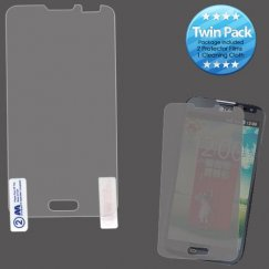 LG Optimus L70 Screen Protector Twin Pack