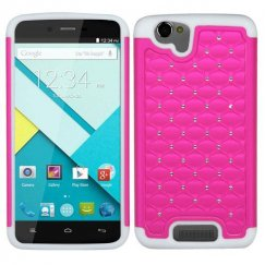 Blu Studio Energy D810 Hot Pink/Solid White FullStar Case