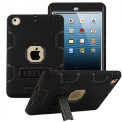 AppleiPad Mini 3rd Gen Black/Black Symbiosis Stand Protector Cover