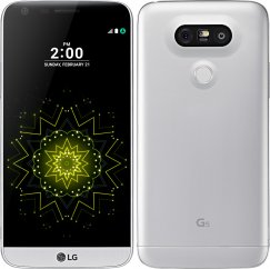LG G5 VS987 32GB Android Smartphone for Page Plus - Silver