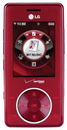 LG Chocolate VX8500 Basic Phone for Verizon - Red