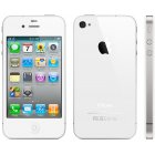 Apple iPhone 4 16GB Bluetooth WiFI White Phone Verizon