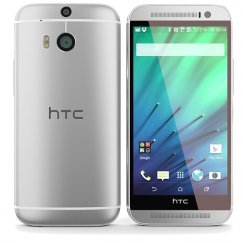 HTC One M8 32GB Android Smartphone - MetroPCS - Silver