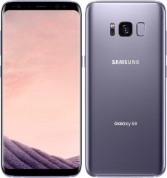 Samsung Galaxy S8 SM-G950U 64GB Android Smartphone - Unlocked Wireless - Orchid Gray