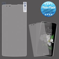 LG K7 Screen Protector Twin Pack