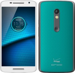 Motorola Droid MAXX 2 16GB XT1565 Android Smartphone for Verizon - White and Turquoise