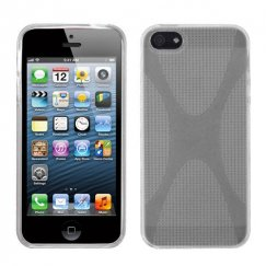 Apple iPhone 5c T-Clear (X Shape) Candy Skin Cover