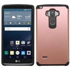 LG G Stylo Rose Gold/Black Astronoot Case