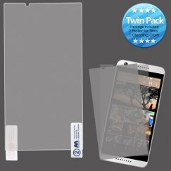 HTC Desire 650 Screen Protector Twin Pack